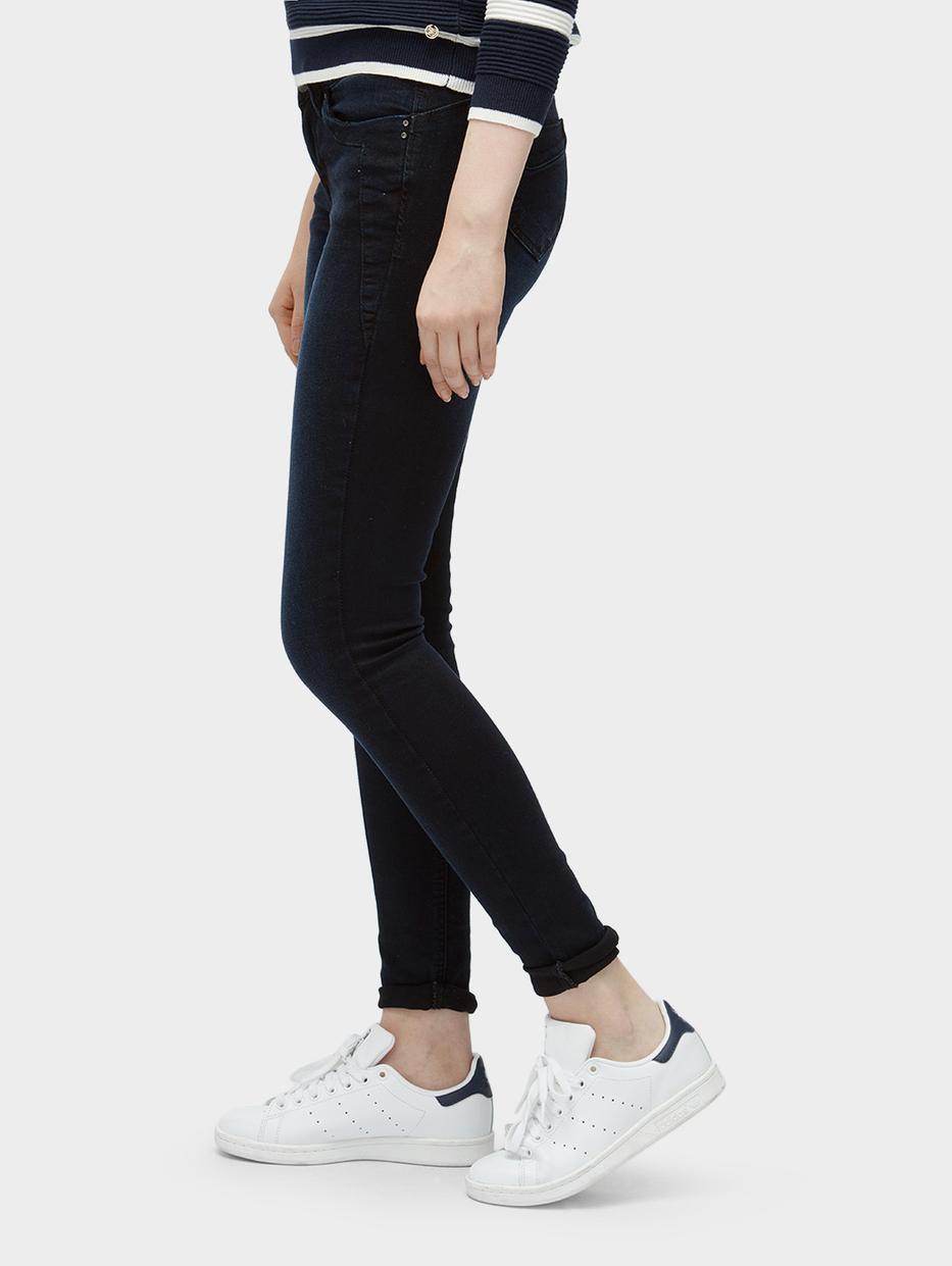 Джинсы Tom TailorДжинсы<br>Джинсы с небольшим эффектом потертости ткани|потайная застежка-молния|классический пятикарманный стиль|содержат эластан для идеальной посадки|покрой Jona Extra Skinny: экстра-высокая линия талии, узкий крой штанин