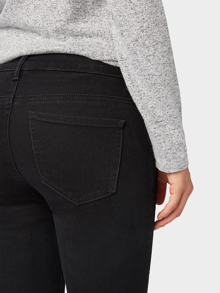 Джинсы Tom TailorДжинсы<br>Базовые джинсы|потайная застежка-молния|содержат эластан для идеальной посадки|покрой Alexa Slim: средняя линия талии, облегающий крой штанин