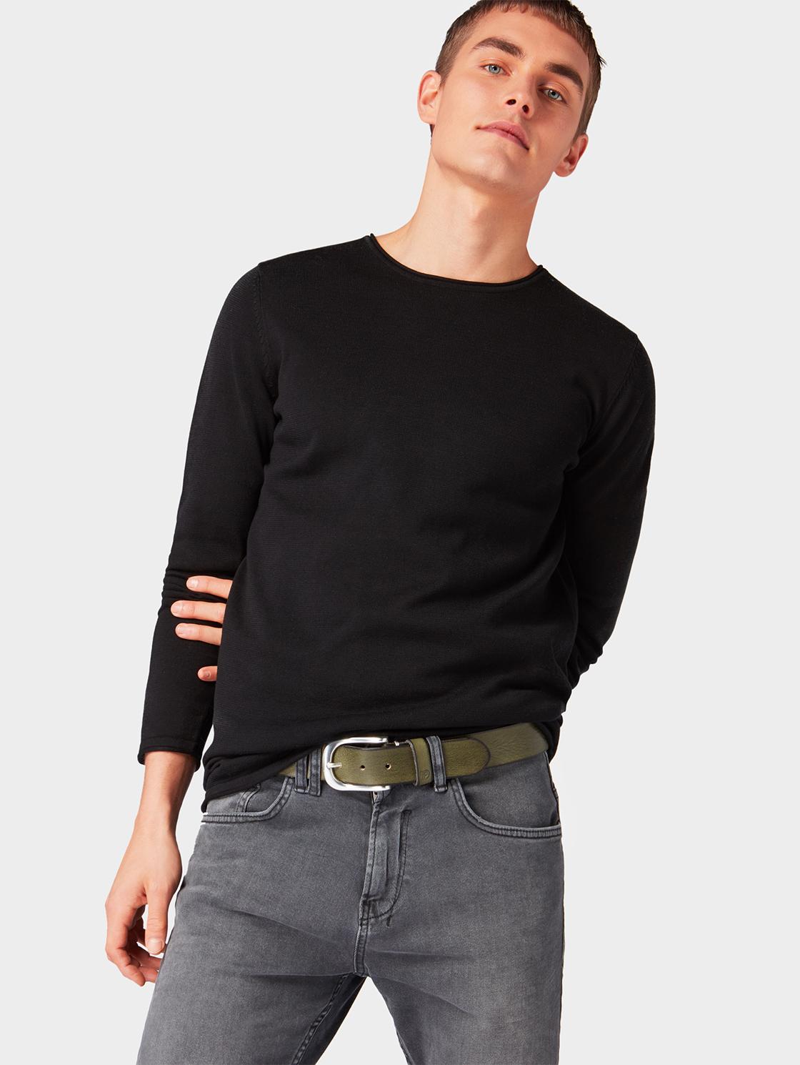 Ремень пуловер tom tailor denim tom tailor denim to793ewfhgm9