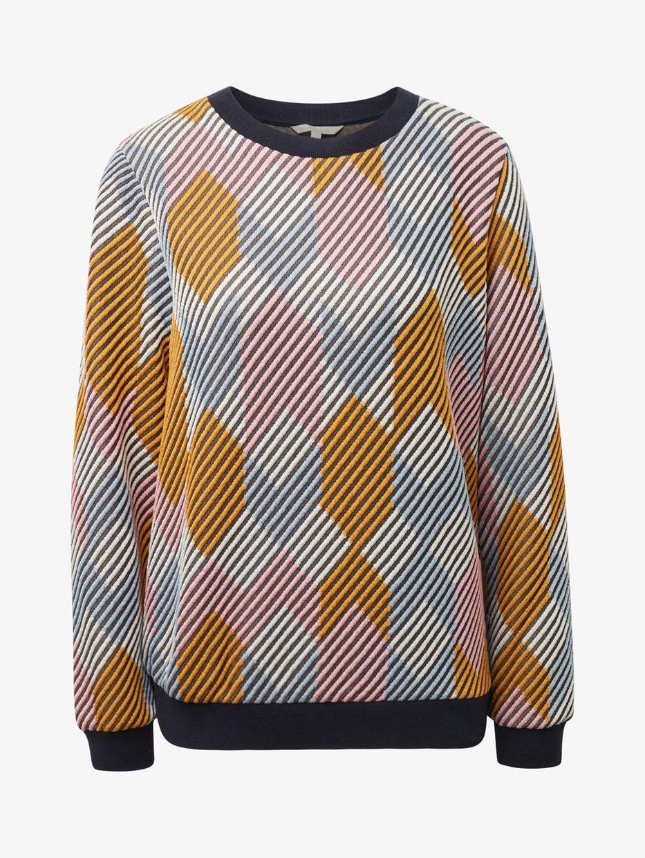 Свитшот пуловер tom tailor denim tom tailor denim to793ewfhgm9